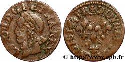 LOUIS XIII Double tournois, type de Warin 1643 Tours XF