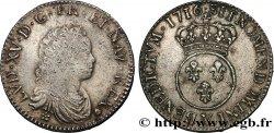 LOUIS XV DIT LE BIEN AIMÉ Demi-écu dit vertugadin 1716 Troyes