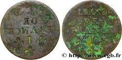 LOUIS XIV THE SUN KING Liard de cuivre, incus n.d. Limoges