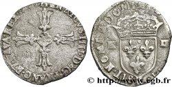 HENRI IV LE GRAND Quart décu, croix feuillue de face n.d. Bordeaux