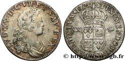 LOUIS XV THE WELL-BELOVED XX sols de Navarre 1720 Rouen