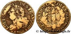 LOUIS XVI 3 deniers dit au faisceau, type FRANÇOIS 1792 Limoges