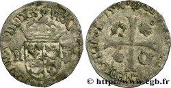 HENRY III Douzain du Dauphiné aux deux H couronnées 1575 Grenoble