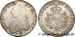 LOUIS XVI Écu dit aux branches dolivier 1785 Bayonne SS/fVZ