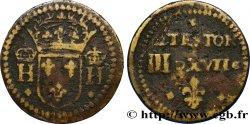 HENRI III ET HENRI IV - POIDS MONÉTAIRE Poids monétaire pour le demi-teston n.d.