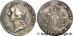 LOUIS XV DIT LE BIEN AIMÉ Écu dit au bandeau 1767 Metz