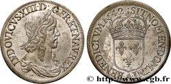 LOUIS XIII LE JUSTE Écu d'argent, 2e type, 1er poinçon de Warin 1642 Paris, Monnaie du Louvre