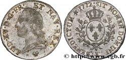 LOUIS XV THE WELL-BELOVED Écu dit à la vieille tête 1772 Bayonne
