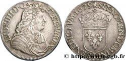 LOUIS XIV THE SUN KING Écu à la cravate dit du Parlement 1er type, 2e buste de Bayonne 1679 Bayonne