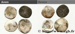 HENRI IV LE GRAND Lot de 4 douzains n.d. s.l. B