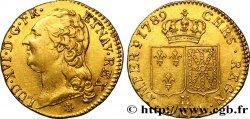 LOUIS XVI Louis dor dit aux écus accolés 1789 La Rochelle