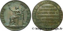 CONFIANCE (MONNAIES DE...) Monneron de 2 sols à la Liberté 1791 Birmingham, Soho
