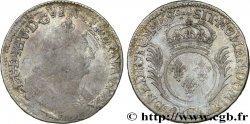 LOUIS XIV THE SUN KING Demi-écu aux palmes 1694 Dijon