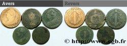 LOTS Lot de cinq monnaies de la Révolution française n.d. s.l.
