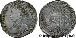 CHARLES IX Teston, 2e type 1564 Toulouse