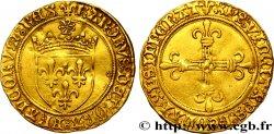 CHARLES VIII Écu dor au soleil n.d. Poitiers q.SPL