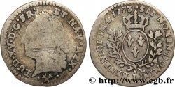 LOUIS XV THE WELL-BELOVED Vingtième décu dit à la vieille tête 1773 Bayonne