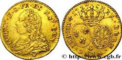 LOUIS XV DIT LE BIEN AIMÉ Demi-louis dor dit aux lunettes 1727 Poitiers