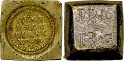 LOUIS XIV THE SUN KING Poids monétaire pour le demi-écu d'argent n.d.  BB