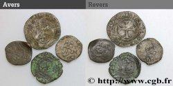 LOTS Lot de 4 monnaies royales n.d. s.l. B+