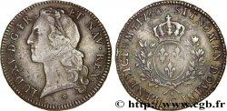 LOUIS XV THE BELOVED Écu dit au bandeau 1760 Caen XF