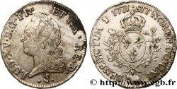 LOUIS XV THE BELOVED Écu dit à la vieille tête de Béarn 1771 Pau VF/XF