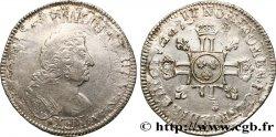 LOUIS XIV THE SUN KING Demi-écu aux huit L, 2e type n.d. s.l. MB