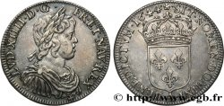 LOUIS XIV  THE SUN KING  Demi-écu à la mèche courte 1644 Paris, Monnaie de Matignon