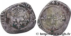 HENRY III. COINAGE AT THE NAME OF CHARLES IX Double sol parisis, 1er type n.d. Montpellier