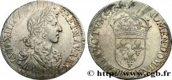 LOUIS XIV  THE SUN KING  Demi-écu au buste juvénile, 1er type 1660 Bayonne