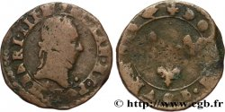 LIGUE. COINAGE AT THE NAME OF HENRY III Double tournois n.d. Paris