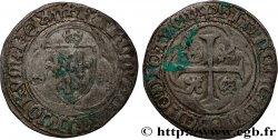 CHARLES VII LE VICTORIEUX Blanc à la couronne n.d. Villefranche-de-Rouergue