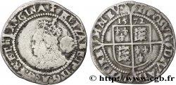 ENGLAND - KINGDOM OF ENGLAND - ELISABETH I Six pences (3e et 4e émissions) 1572 Londres VF/VF