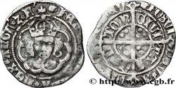 ANGLETERRE - ROYAUME DANGLETERRE - HENRY VII Halfgroat n.d. Canterbury q.BB