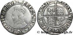 ENGLAND - KINGDOM OF ENGLAND - ELISABETH I Shilling (6e émission) n.d. Londres
