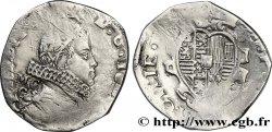 ITALIE - ROYAUME DE SICILE - PHILIPPE IV DESPAGNE Quart de scudo 16[...] Naples