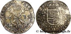 PAYS-BAS ESPAGNOLS - DUCHÉ DE BRABANT - PHILIPPE IV Patagon 1635 Bruxelles