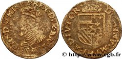 SPANISH LOW COUNTRIES - DUCHY OF BRABANT - PHILIPPE II Liard 1585 Maastricht