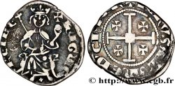 KINGDOM OF CYPRUS - HUGUES IV OF LUSIGNAN Demi-gros n.d.