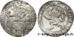 NETHERLANDS - UNITED PROVINCES - HOLLAND Daldre ou écu au lion 1576 Dordrecht VF/XF