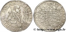 GERMANY - SAXONY 1 Thaler Duché de Saxe, Jean-Georges Ier en armure / écu aux heaumes 1624
