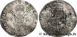PAYS-BAS ESPAGNOLS - DUCHÉ DE BRABANT - PHILIPPE IV Demi-patagon 1656 Anvers