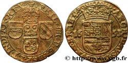 PAYS-BAS ESPAGNOLS - DUCHÉ DE BRABANT - PHILIPPE IV Liard 1653 Bruxelles