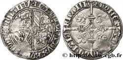 FLANDRE - COUNTY OF FLANDRE - PHILIPPE THE GOOD Double gros dit Vierlander n.d. Gand ou Bruges XF