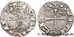CROISADES - PRINCIPAUTÉ DANTIOCHE - BOHÉMOND III Denier n.d. Antioche q.BB
