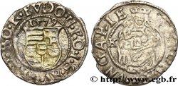 HONGRIE - ROYAUME DE HONGRIE - RODOLPHE II DE HABSBOURG Denier 1579 Kremnitz VF
