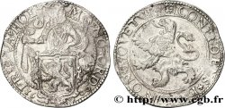NETHERLANDS - UNITED PROVINCES 1 Ecu ou Daldre au lion Frise 1600