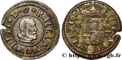 ESPAGNE - ROYAUME DESPAGNE - PHILIPPE IV 16 Maravedis 1662 Madrid